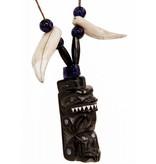 Haida Argillite Bear Necklace