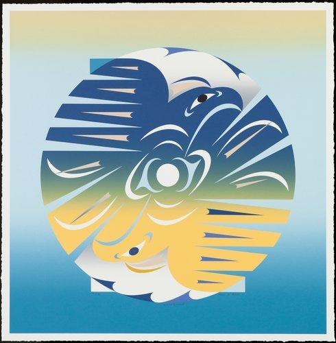 'Indian Summer' - Print by Susan Point (Musqueam/Coast Salish).