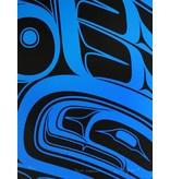 'Blue Formline' print by Alano Edzerza (Tahltan).