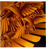 'Gold Raven Gift' print by Alano Edzerza (Tahltan).