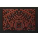 'Sea Monster 1' print by Alan Edzerza (Tahltan).