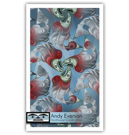 'Tranformation' print by Andy Everson (Komox).