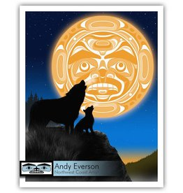 'A New Song' print by Andy Everson (Komox).