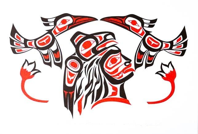 'Haida Chief' print by Ron LaRochelle (Haida).