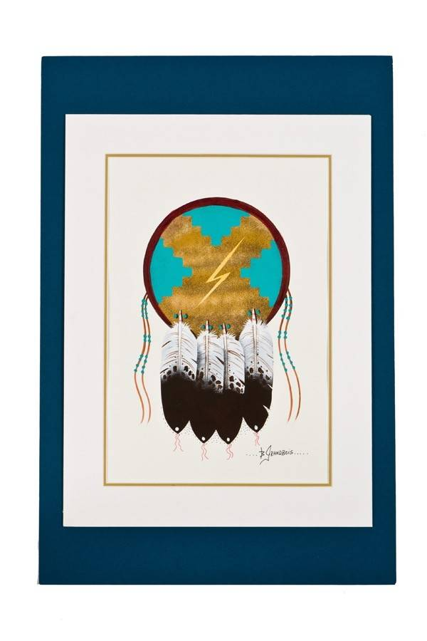 Original Painting by Brian Grandbois (Chipewyan).