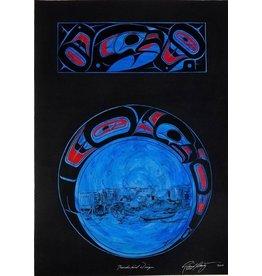 Original painting - 'Thunderbird Design'