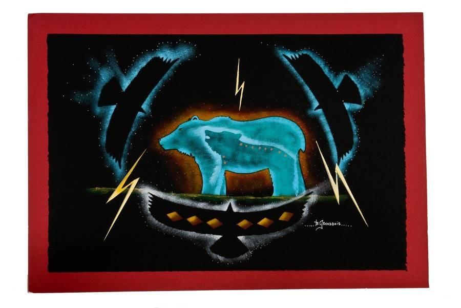 Original Painting by Brian Grandbois (Dene).