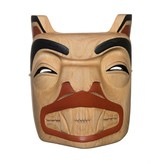 Bear Mask by Rick Wesley (Gitxsan).
