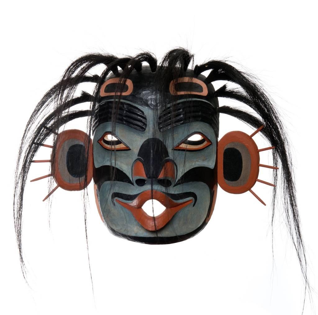 Sea Dzunukwa Mask by Mathew Baker