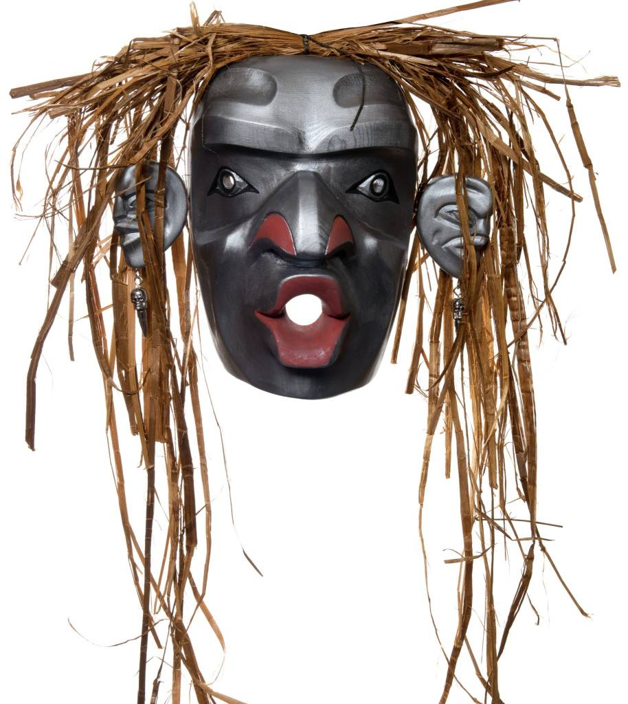 Large West Coast Dzunukwa Mask