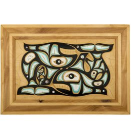 Orca panel by Andrew Jackson Flatfoot