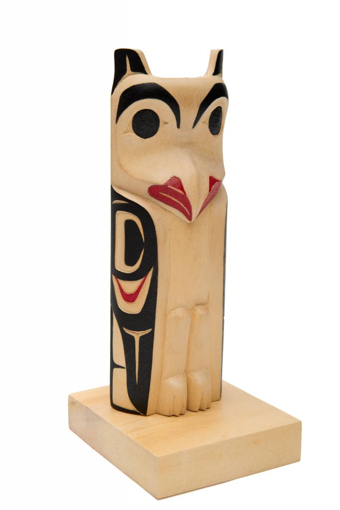 Small Owl Totem Pole  (Nisga).