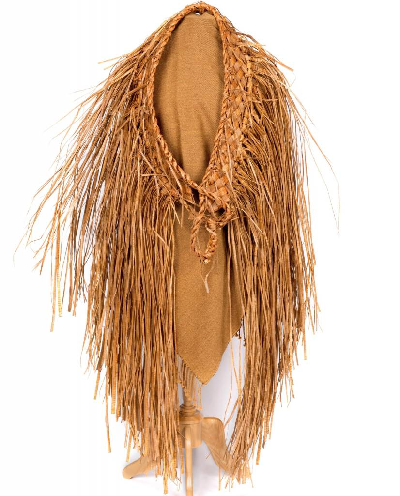 Traditional Woven Cedar Bark Cape