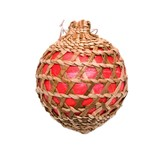 Christmas Cedar Ornament Made by Francis Jackson (Gitxsan).