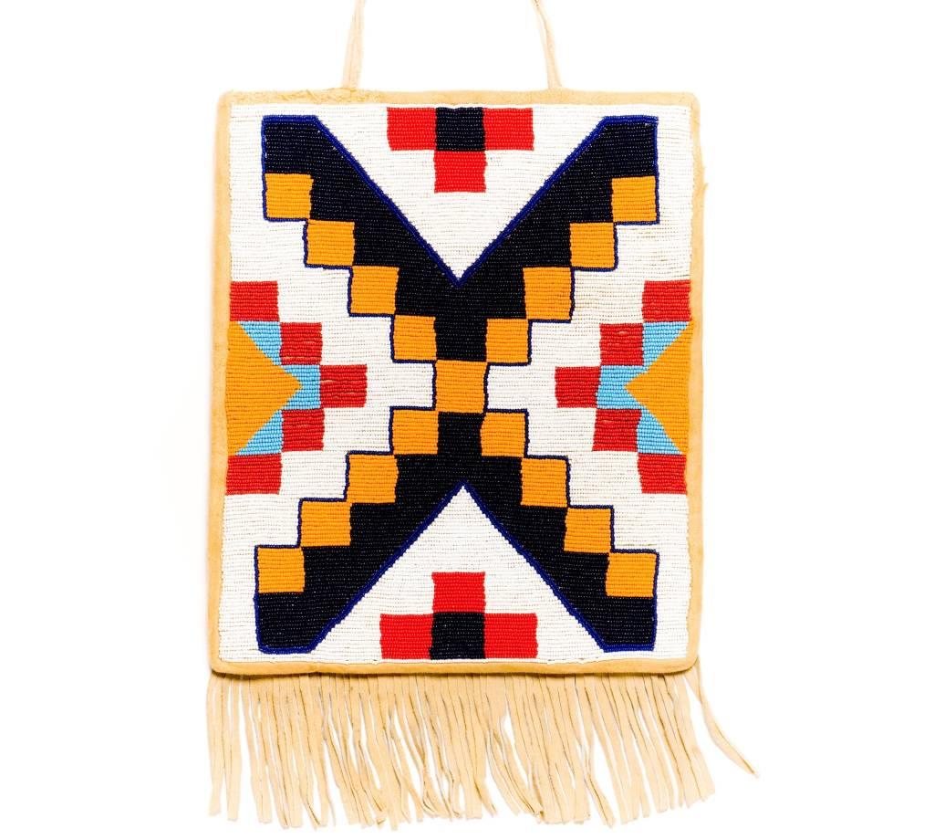 Geometric Flat Bag