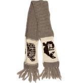 Cowichan Knit Scarf