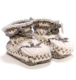 Cowichan Knit Slippers