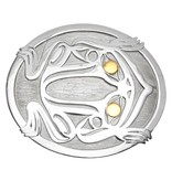 Tahltan Frog Belt Buckle