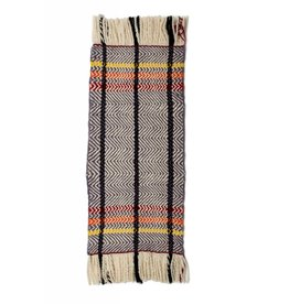 tsaw Traditional Salish Hand Woven Blanket by Keith Nahanee (Squamish).