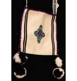 Medicine (Peyote) Bags by Francisco and Velina Hernandez (Huichol).