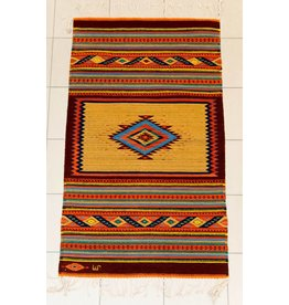 Rug Hand Woven by the Mendoza Family (Zapotec).