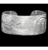 "1"" Silver Bracelet by Charles Harper."