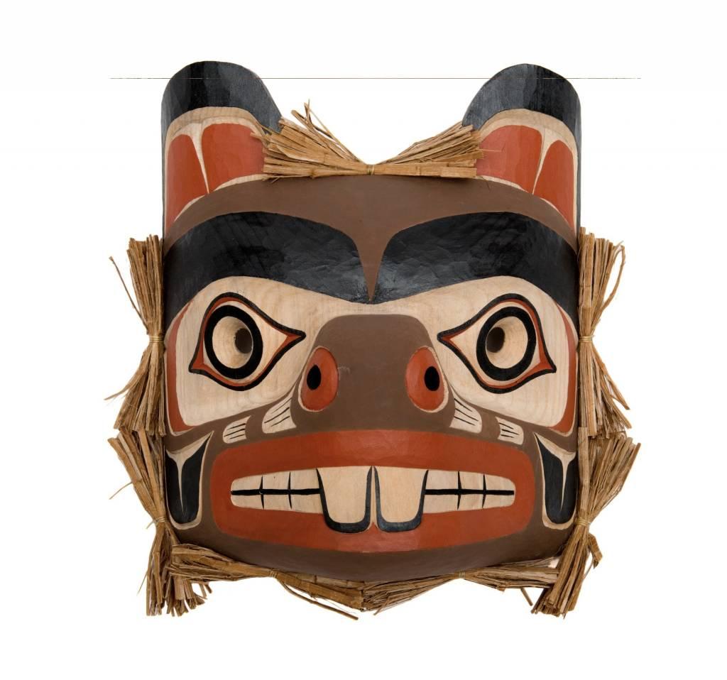 Beaver Mask by Mathew Baker (Squamish)