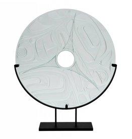 Orca Glass panel by Corey Bulpitt