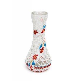 Small Beaded Vase