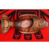 Stained Halibut Bowl (Kwakwakawakw).