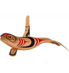 Coast Salish Killer Whale Carving