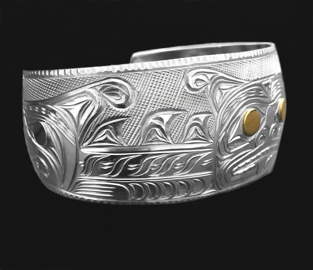 "1 1/4"" Sisiutl  Bracelet"