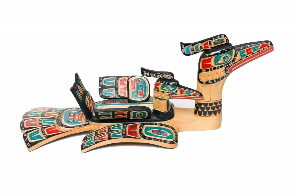 Loon Bowl Set (Kwakwaka'wakw).