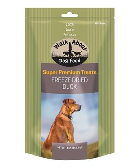 Walk About Freeze Dried Dog Treats 4 OZ