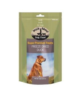 Walk About Freeze Dried Dog Treats 4 OZ