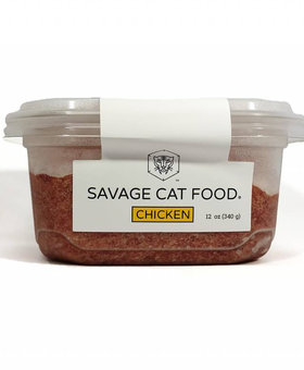 Savage Cat Food