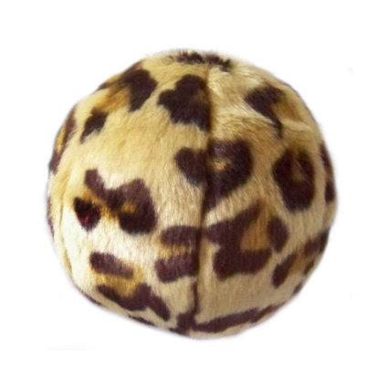 FLUFF & TUFF, INC. Fluff & Tuff Leopard Ball