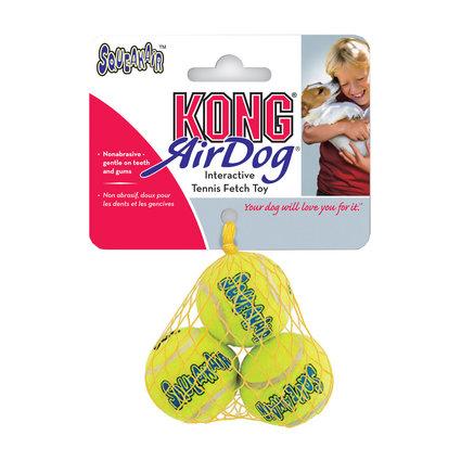 Kong AirDog Squeakair Ball 3PK