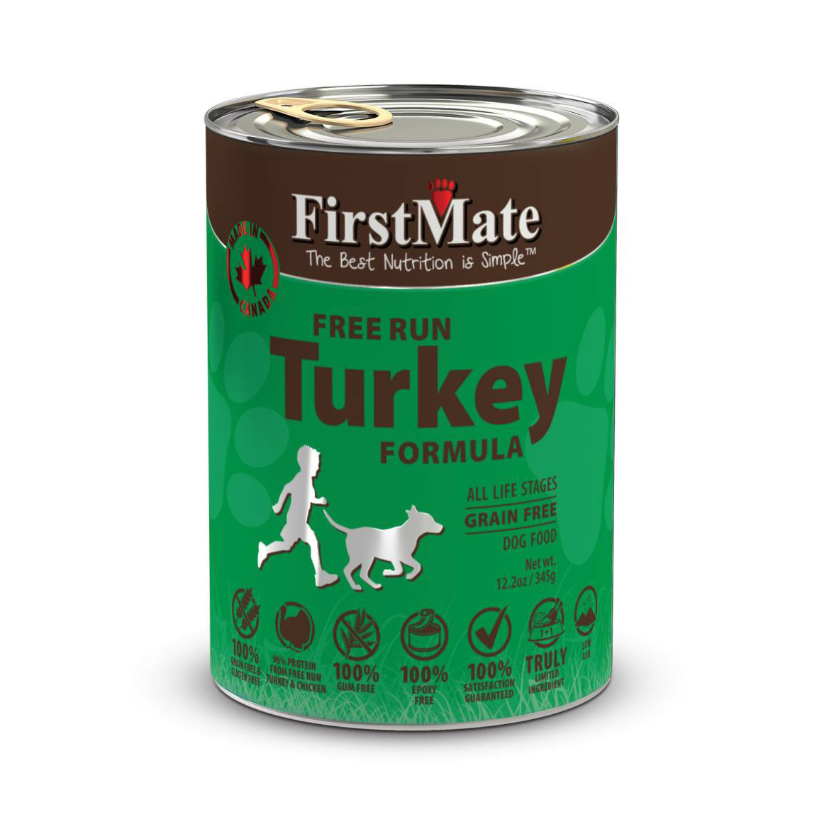 FirstMate Dog Cans