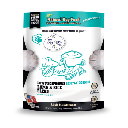 My Perfect Pet Low Phosphorus Lamb & Rice 3.5 LB
