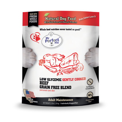 My Perfect Pet Low Glycemic Beef Blend - 3.5LB