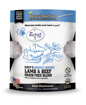 My Perfect Pet Grain Free Roxy's Lamb & Beef Blend - 3.5LB