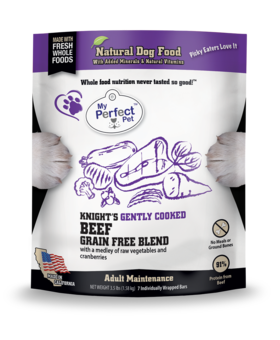 My Perfect Pet Grain Free Knights Beef Blend - 3.5LB
