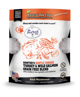 My Perfect Pet Grain Free Hunter's Turkey & Salmon Blend - 3.5LB