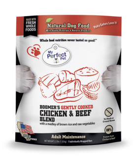 My Perfect Pet Boomer's Chicken & Beef Blend - 3.5LB