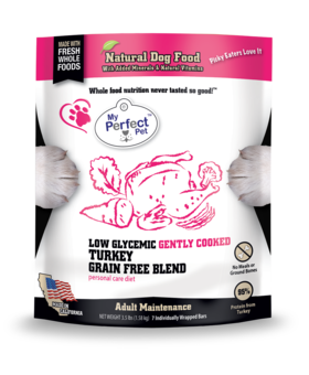 My Perfect Pet Low Glycemic Turkey Blend - 3.5LB