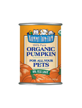 Nummy Tum Tum Organic Pumpkin Cans 15OZ