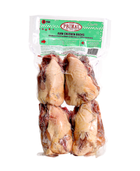 Primal Chicken Backs 4 PK