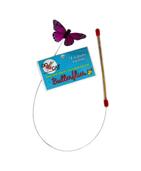 GO CAT FEATHER TOYS Go Cat Butterflier