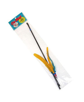 GO CAT FEATHER TOYS Go Cat Da Bird & Rod